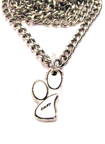 Set Of Matching Best Friends Paw Print Necklaces