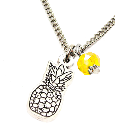 Summer Pineapple Necklace