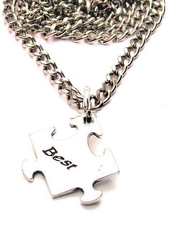 Puzzle Pieces Set Of 2 Best Friends Catalog Necklace