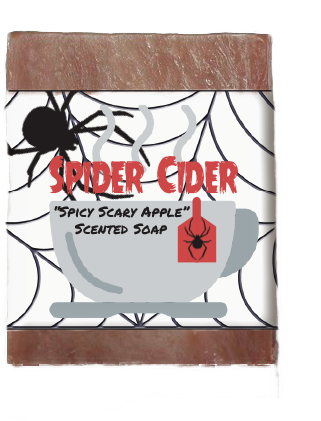 Spider Cider Kids Soap Bar