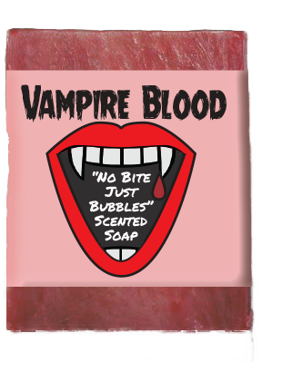 Vampire Blood Kids Soap Bar