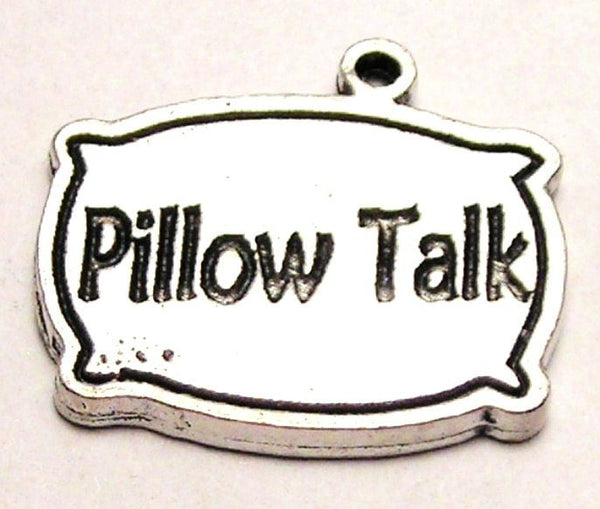 Pillow Talk Genuine American Pewter Charm