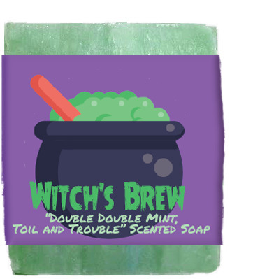 Witch's Brew Kids Soap Bar