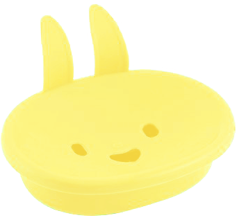 Bunny Shaped Kids Soap Dish