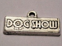Dog Show Genuine American Pewter Charm