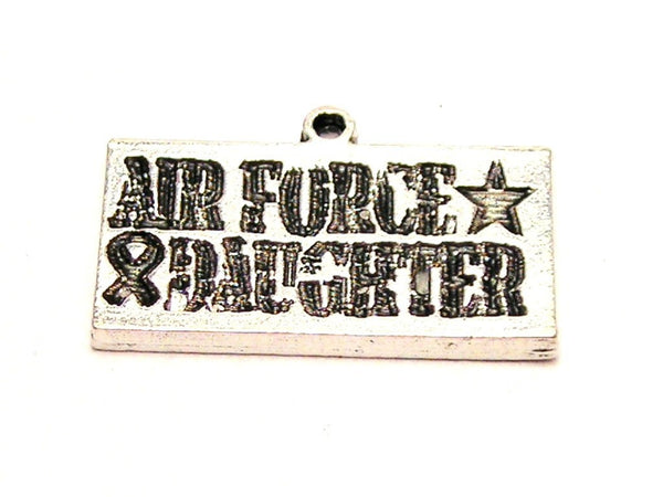 Air Force Daughter Genuine American Pewter Charm