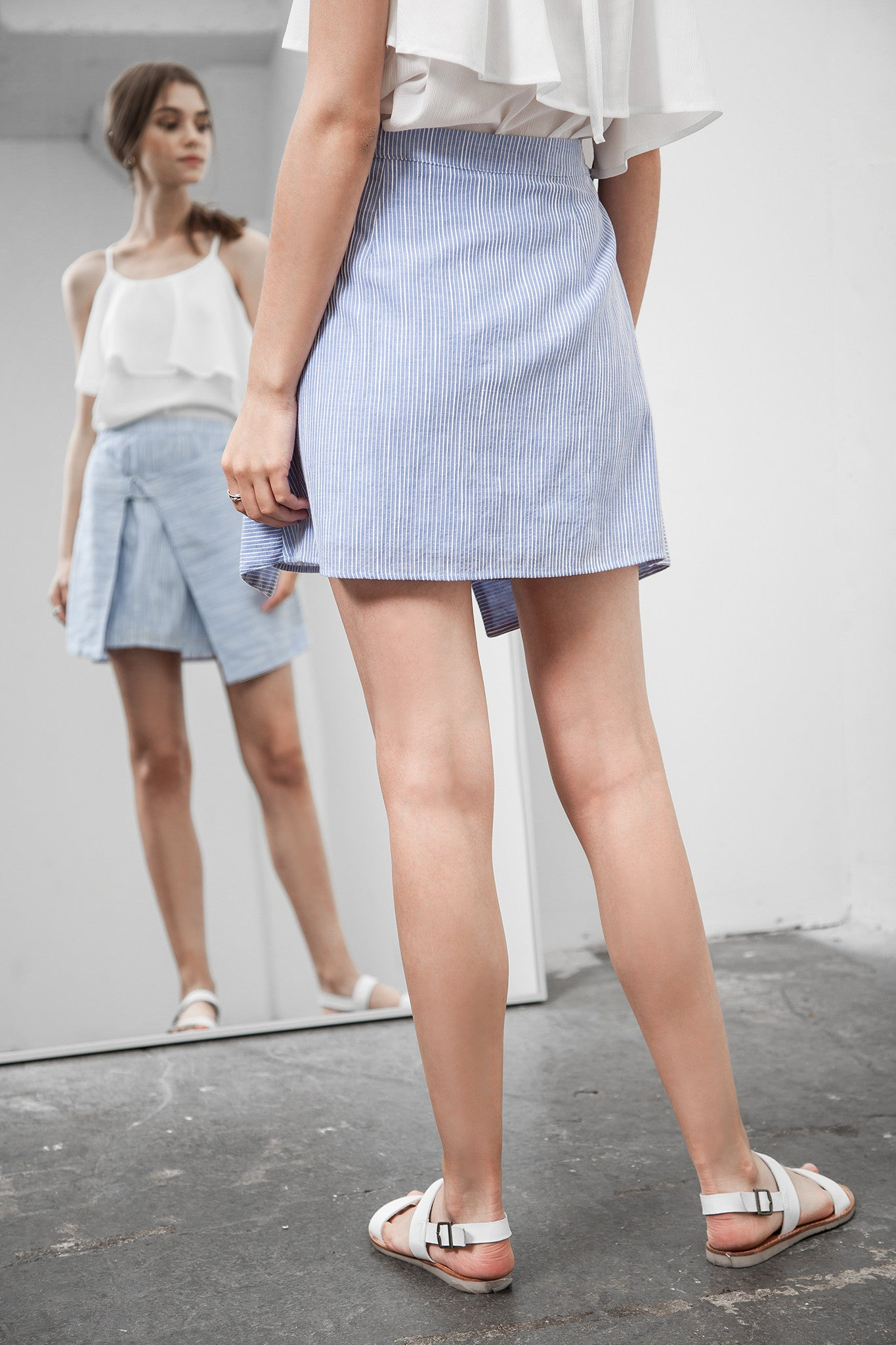 WRAP STYLE D RING SKIRT - J.O.A.