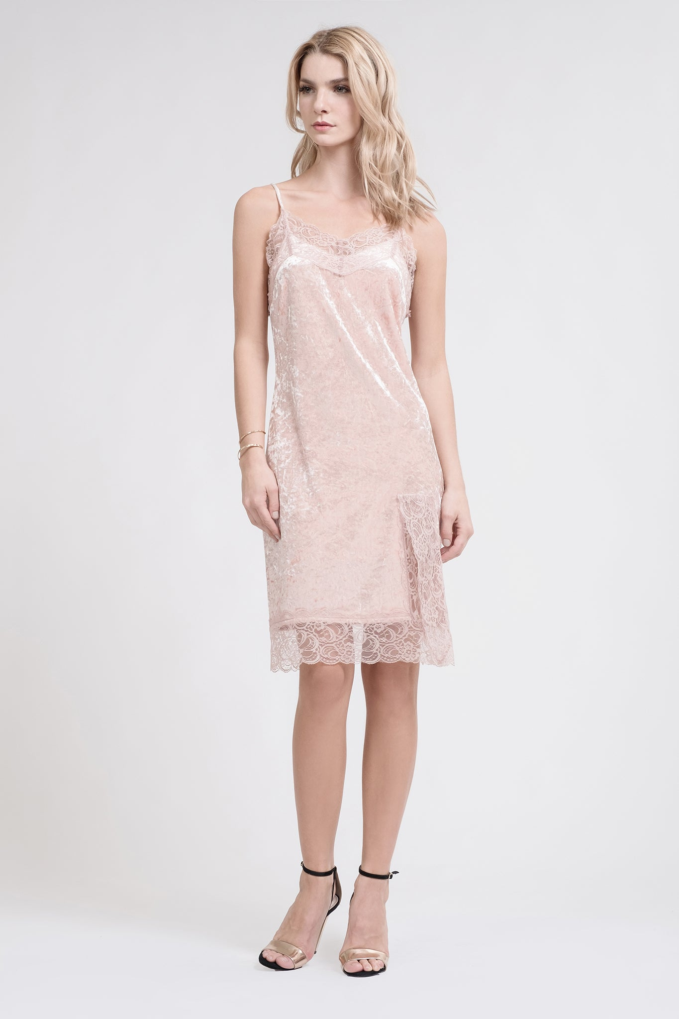 on sale new appearance affordable price Slip Dress with Lace – Fashion dresses