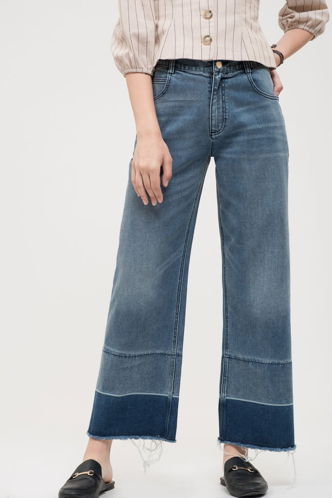 EVIDNT ATHENS WIDE LEG JEANS