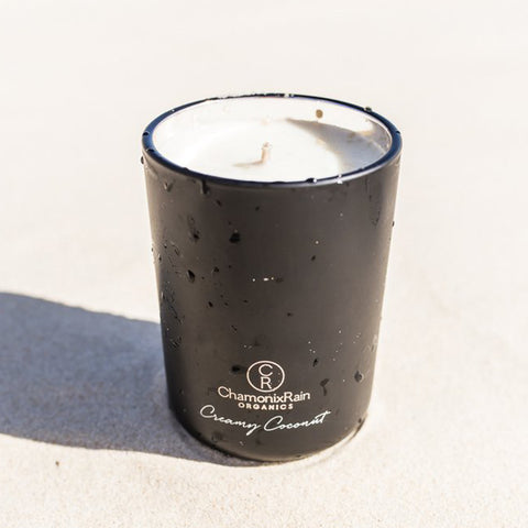 Creamy Coconut Candle - Black (Pre-Sale: Dispatched from Tuesday 27th April)