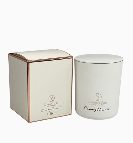 Creamy Coconut Candle - White (PRE-SALE OPENING MONDAY 30TH NOVEMBER)