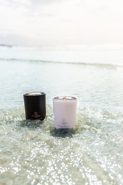 Creamy Coconut Candle - Black (PRE-SALE OPENING MONDAY 30TH NOVEMBER)