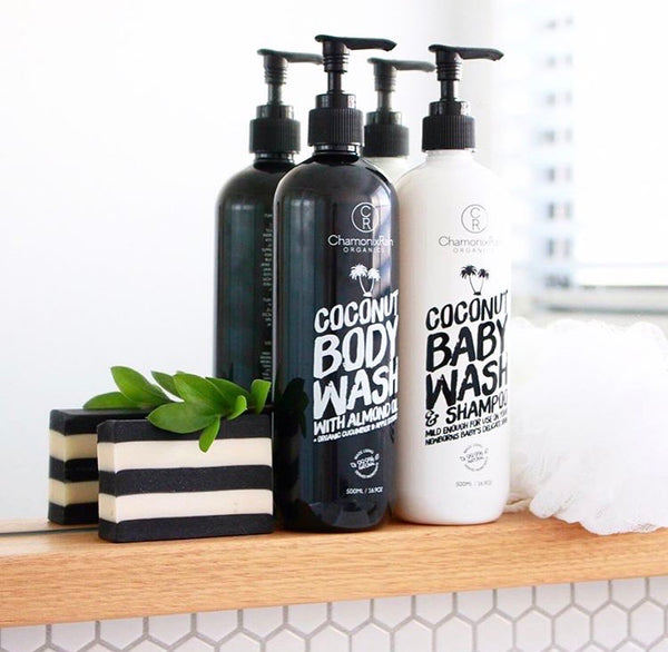 3 x 500ml Body Wash