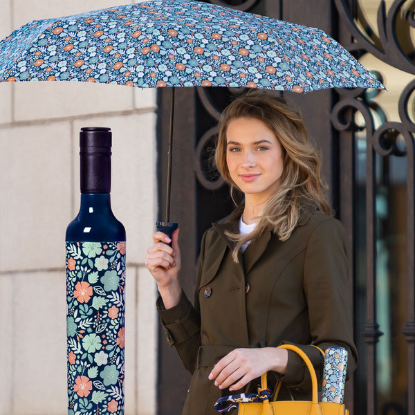 Bottle umbrellas by Vinrella