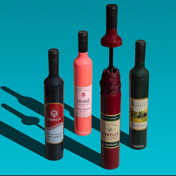Wine lover's umbrella collection by Vinrella
