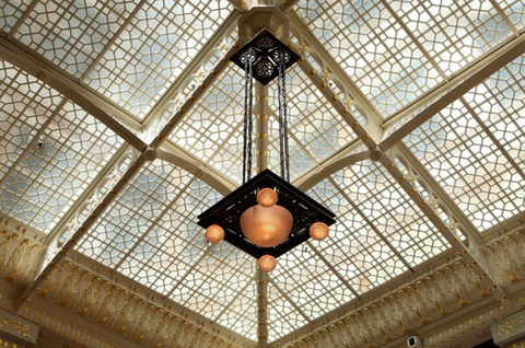 The Rookery Building, Chicago - an example of Inspiration for our Art Deco Umbrella