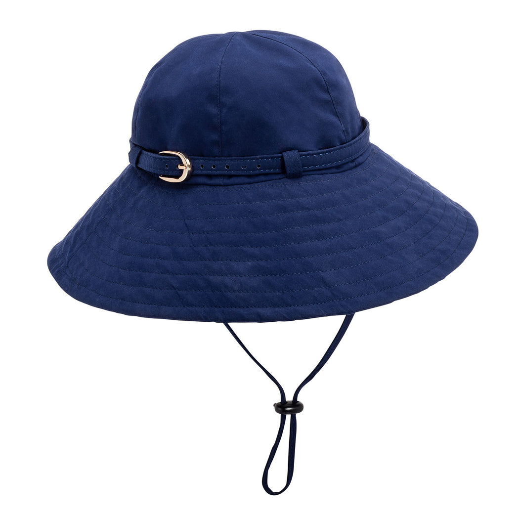 Navy Matte Rain Hat by Vinrella