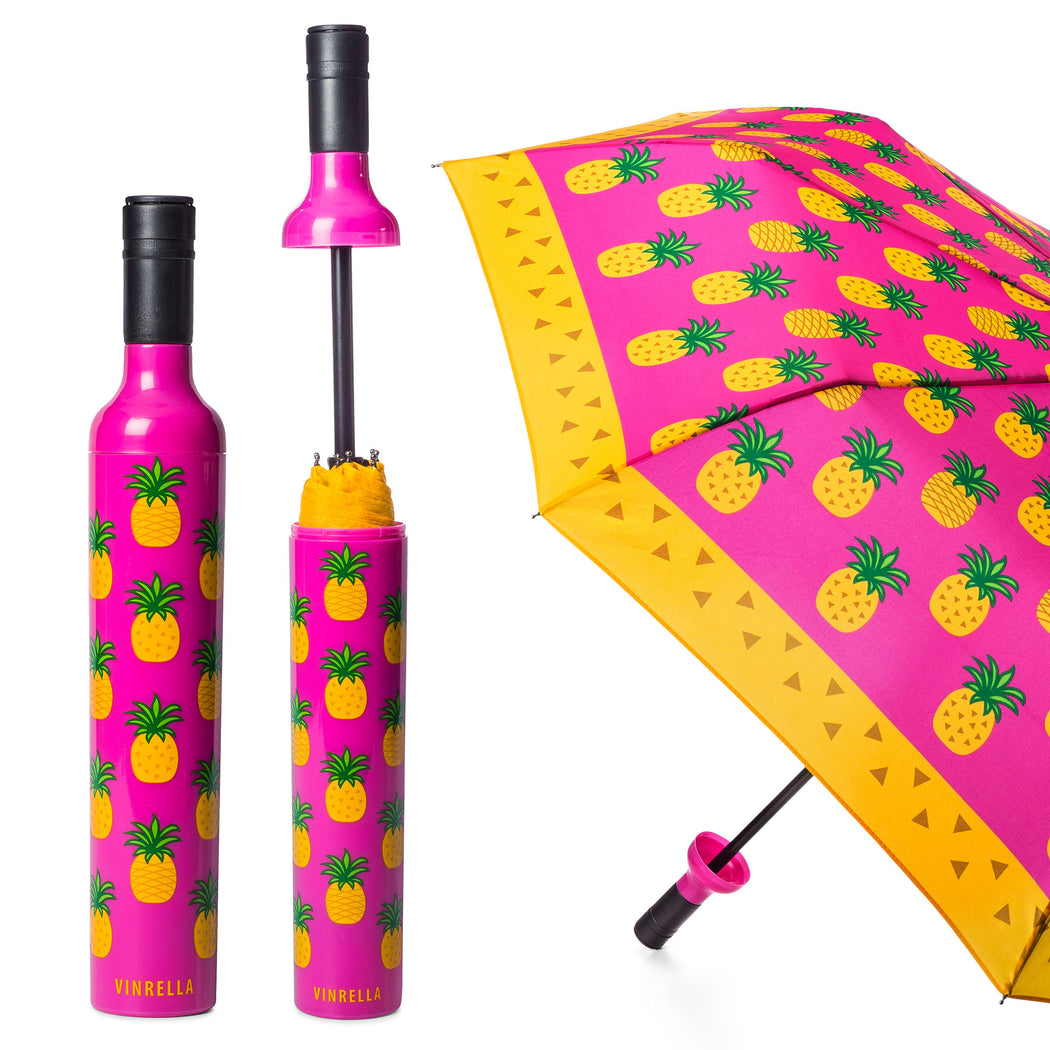 Pineapple Punch Bottle Umbrella by Vinrella