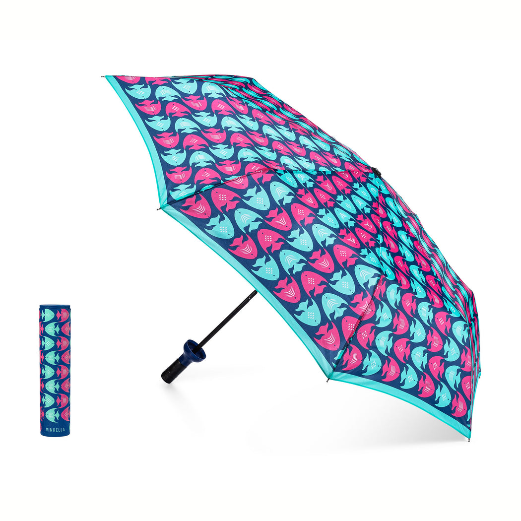 School Mates Fish Pattern Umbrella by Vinrella