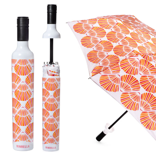 Shellebrate Bottle Umbrella by Vinrella