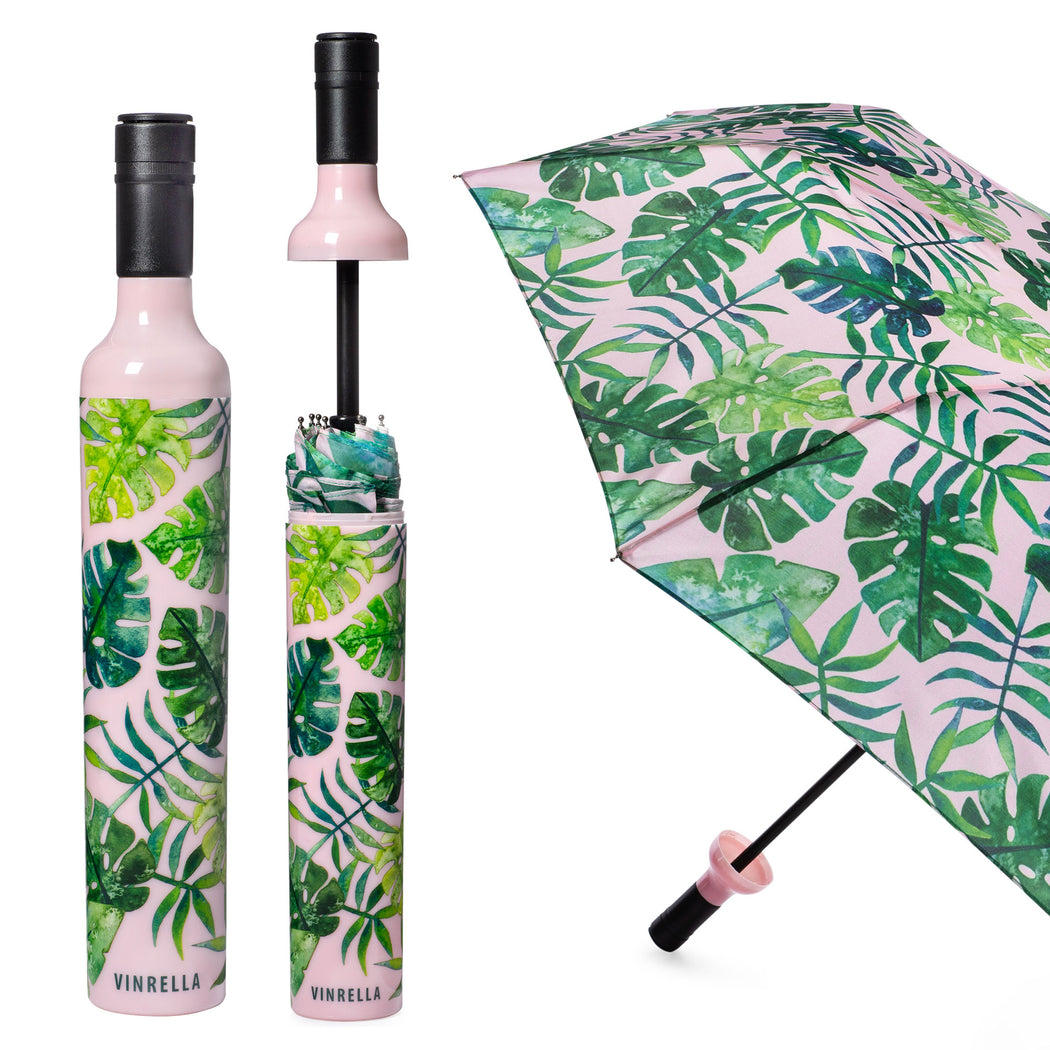 Tropical Paradise Bottle Umbrella by Vinrella