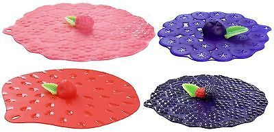 Berry Silicone Lids