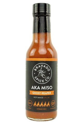 AKA Miso Ghost-Reaper Hot Sauce