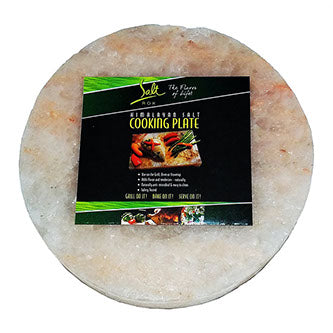 Round Himalayan Salt Cooking Plate