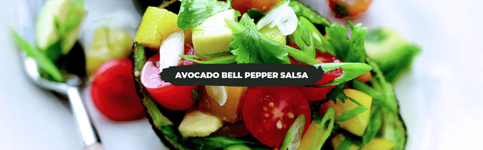 Avocado Bell Pepper Salsa