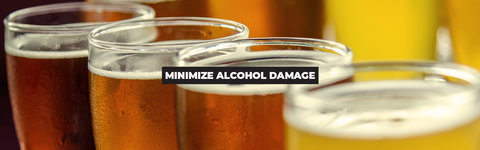 How to Reduce the Effects of Alcohol | 3 Ways to Minimize the Damage
