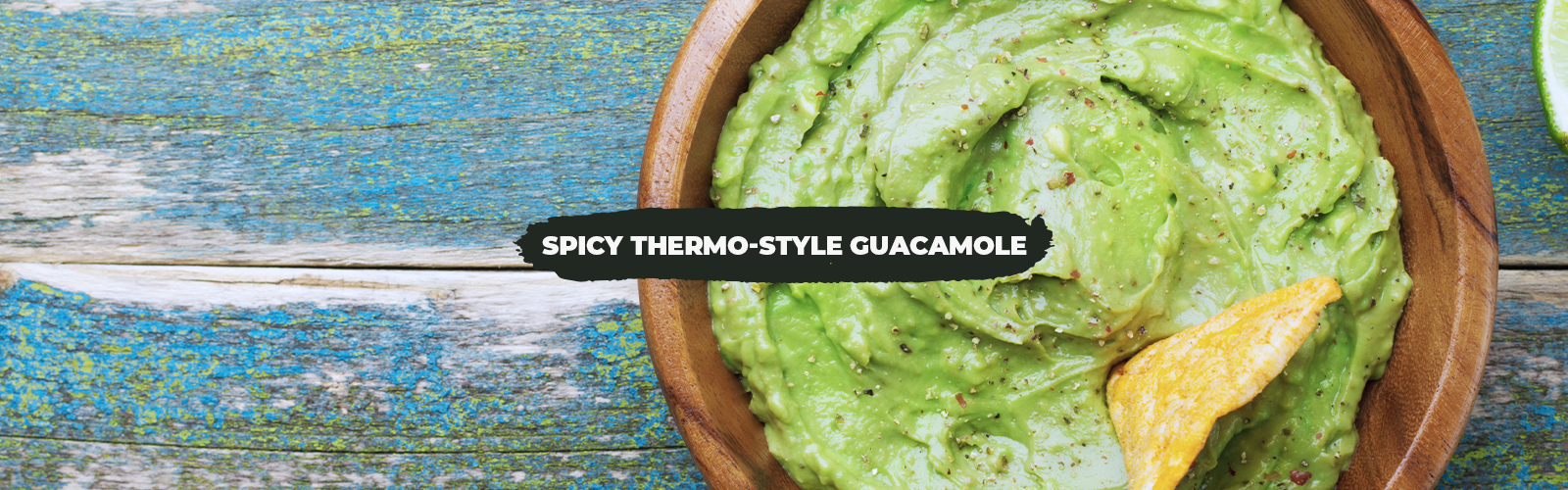 Spicy Thermo-Style Guacamole