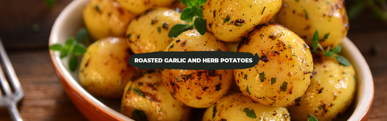 Thermo-Friendly Roasted Garlic and Herb Potatoes
