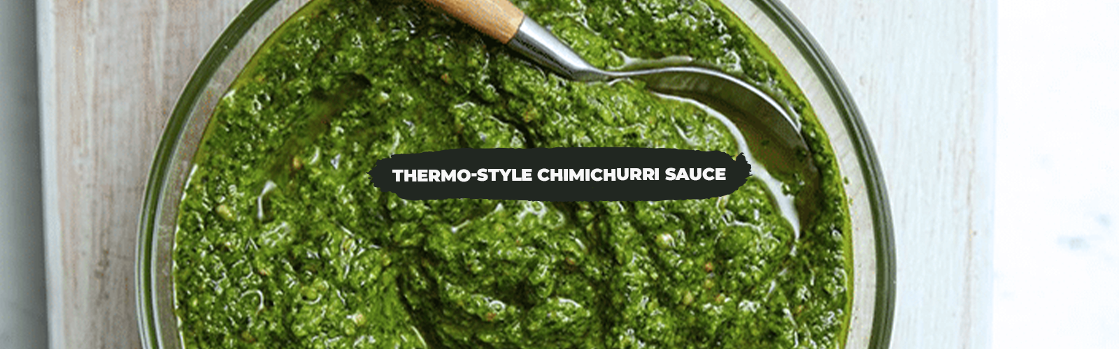 Thermo-Style Chimichurri Sauce