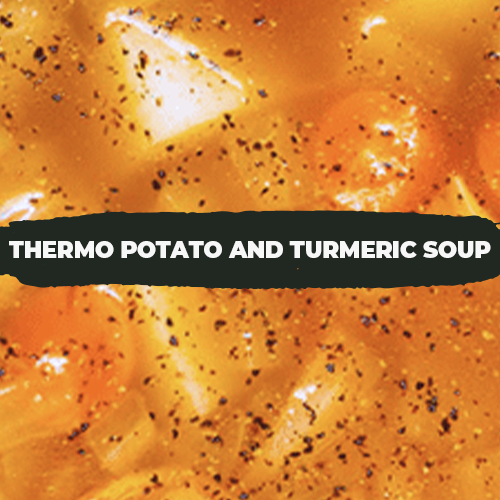 Thermo Potato and Turmeric Soup