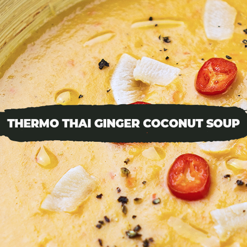 Thermo Thai Ginger Coconut Soup