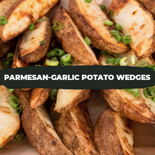 Thermo Parmesan-Garlic Potato Wedges