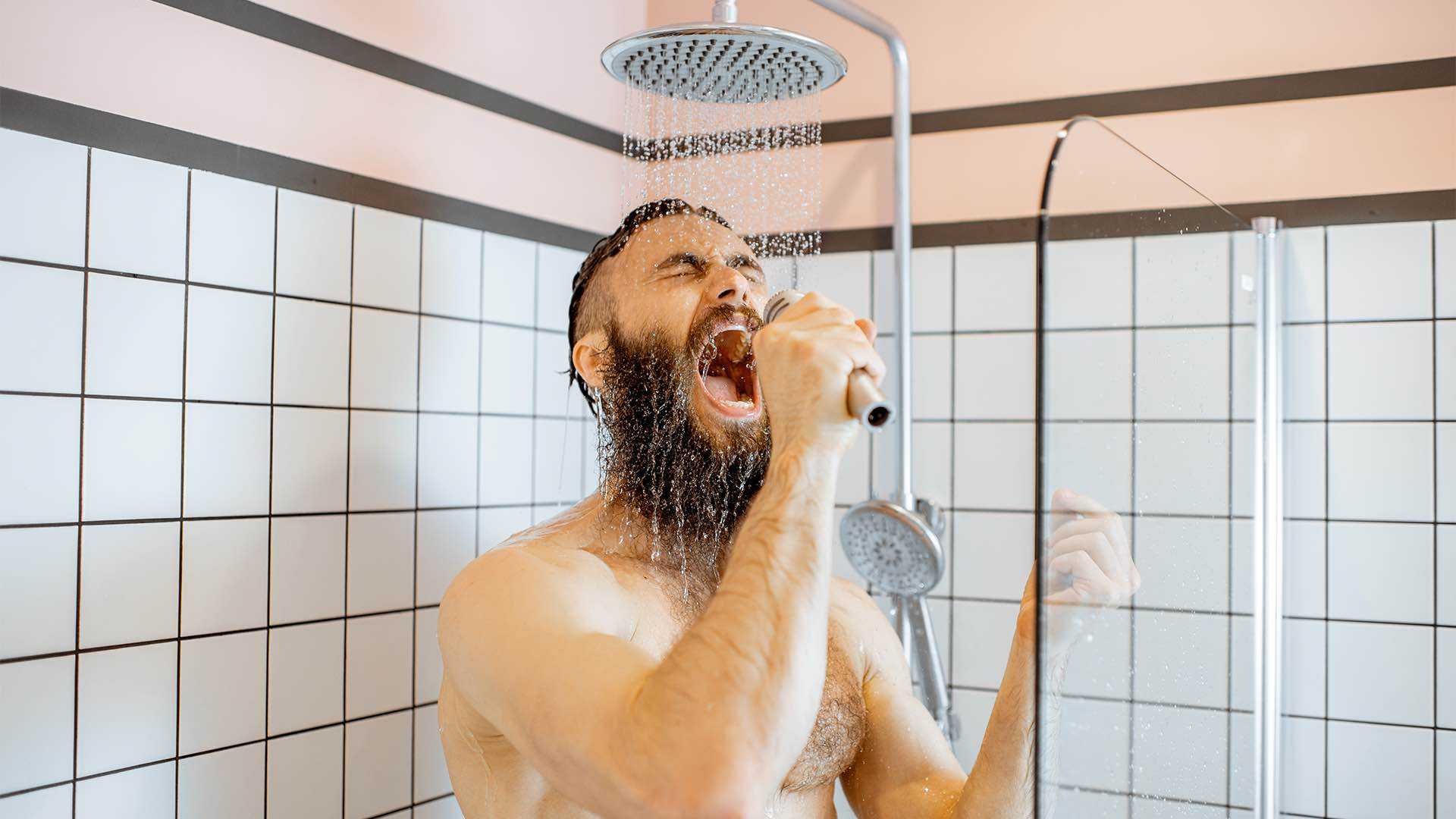sing in the shower