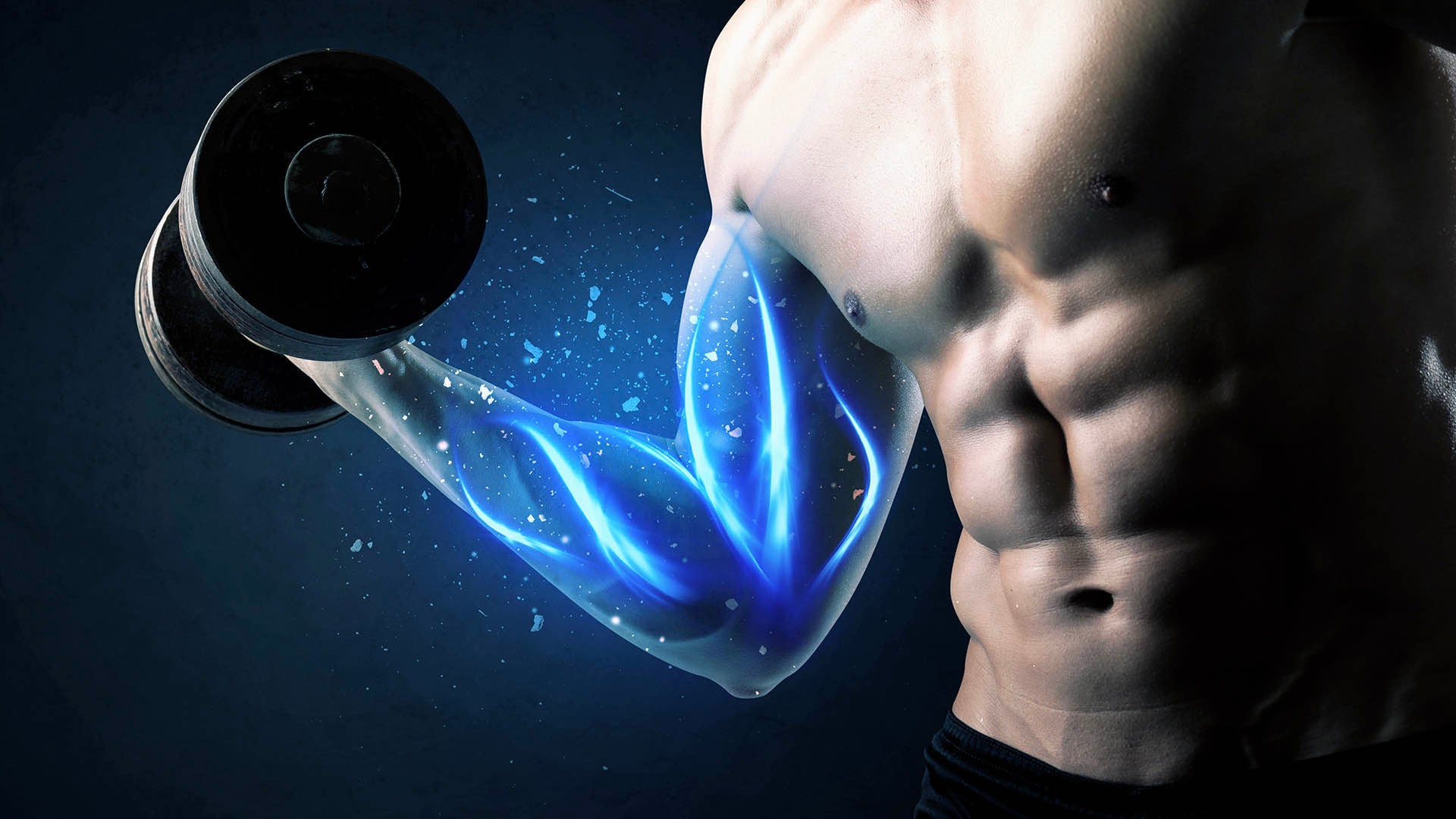 increased muscle mass