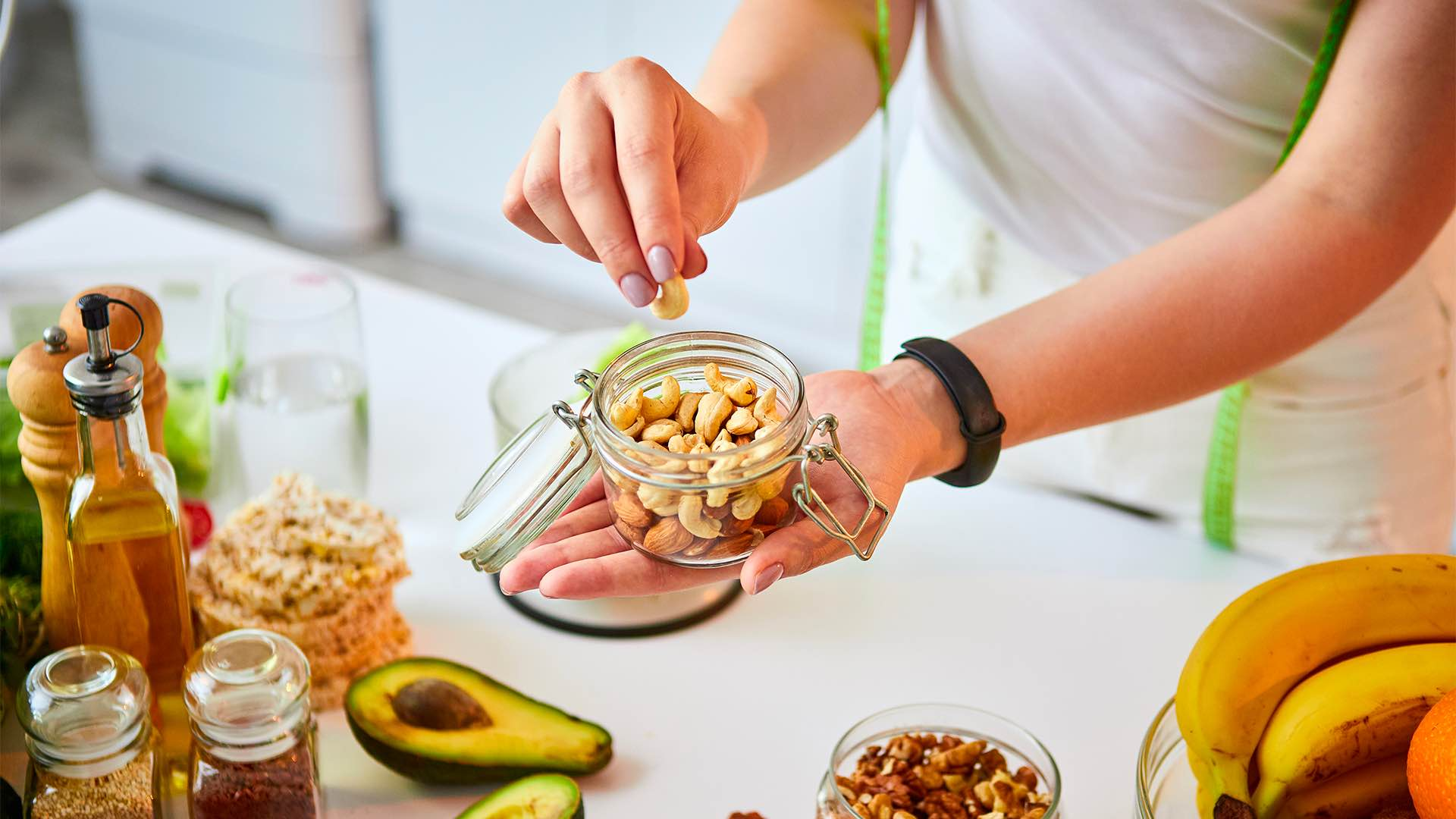 Why nuts are said to be healthy