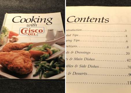 cooking with crisco