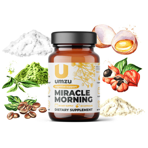 Miracle Morning: Boost Energy, Mood, & Cognitive Performance