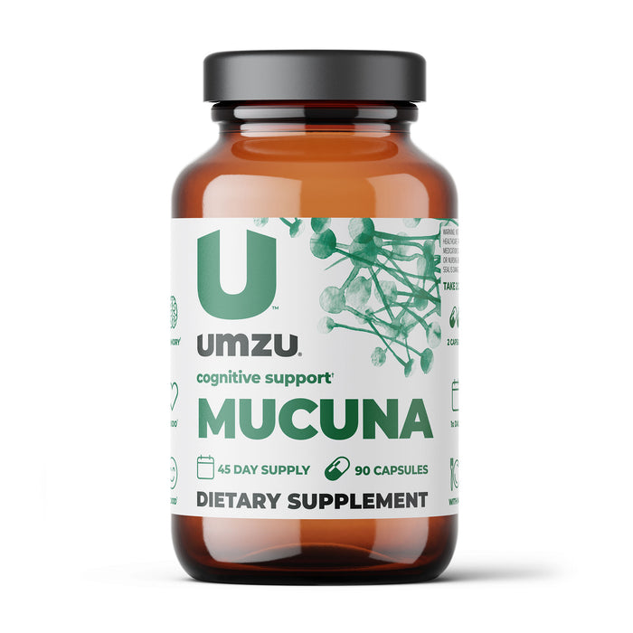 Mucuna Pruriens: Focus, Well-Being, & Brain Support