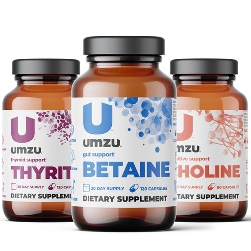 Hair Restoration Essentials Stack: Thyrite, Betaine & Choline