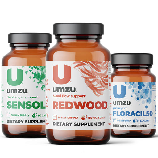 The Women's Essentials Bundle: Redwood, Floracil50 & Sensolin
