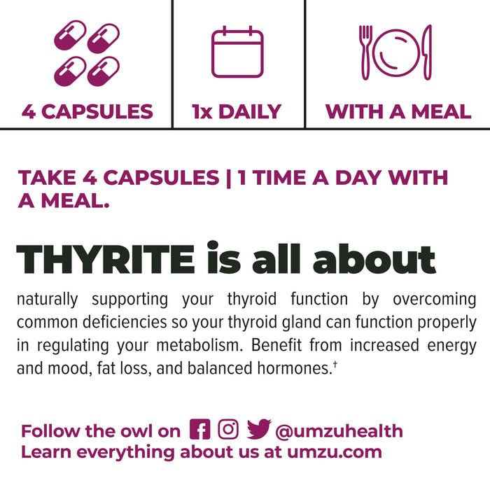 Thyrite - Thyroid Support & Metabolism Booster