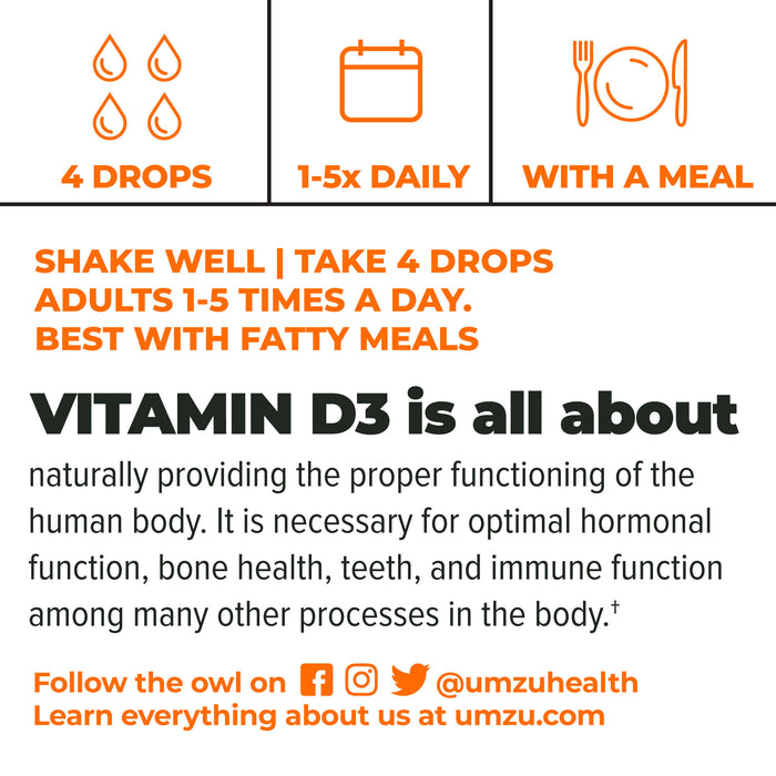 Liquid Vitamin D3: Mood & Hormone Support