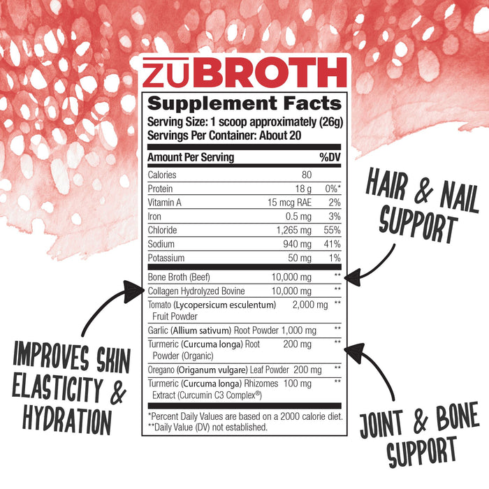 zuBROTH: Total Bone Broth Protein
