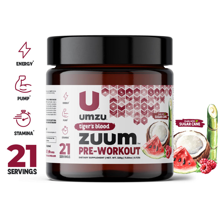 Zuum Pre-Workout: Energy, Pump & Stamina