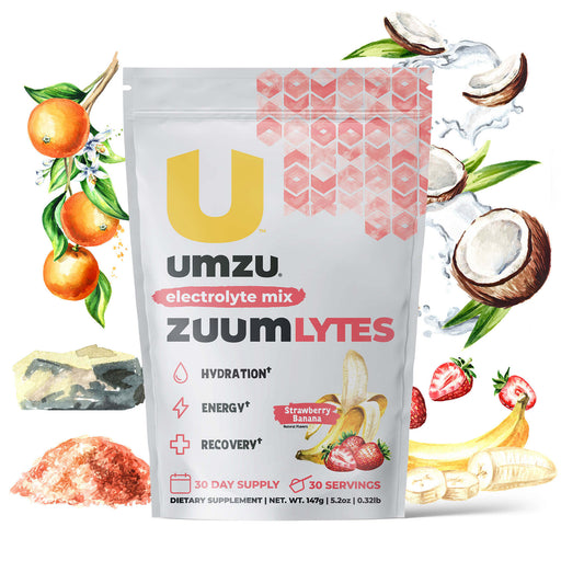 ZUUM Lytes: Electrolyte Drink Powder (Strawberry Banana)