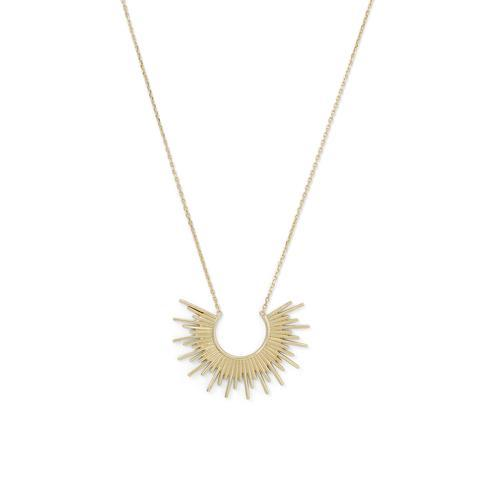 14 Karat Gold Plated Necklace ry